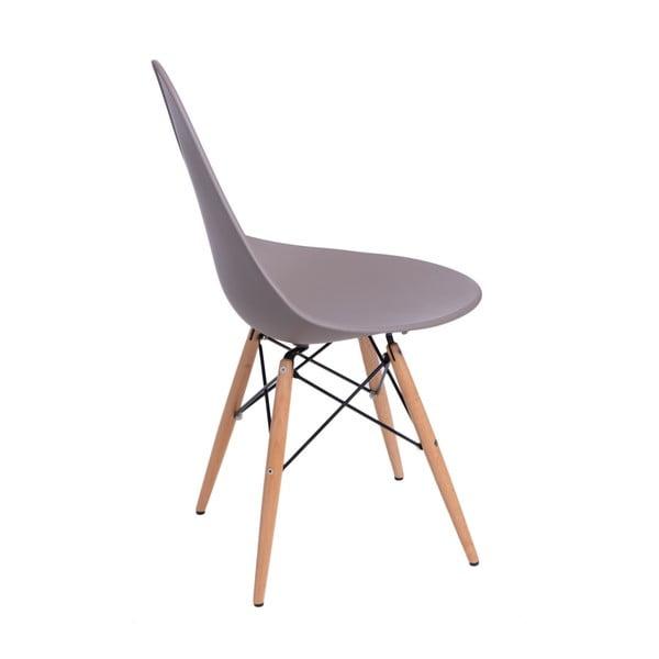 Sada 2 šedých židlí D2 Rush DWS