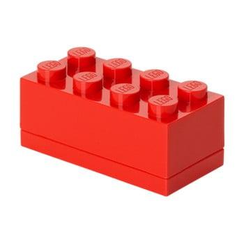 Cutie depozitare LEGO® Mini Box, roșu de la LEGO®