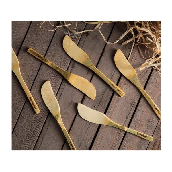 Zestaw 6 nożyków bambusowych do masła Bambum Forre