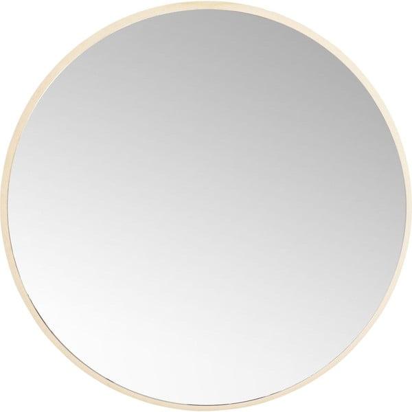 Kulaté nástěnné zrcadlo Kare Design Jetset, Ø73cm