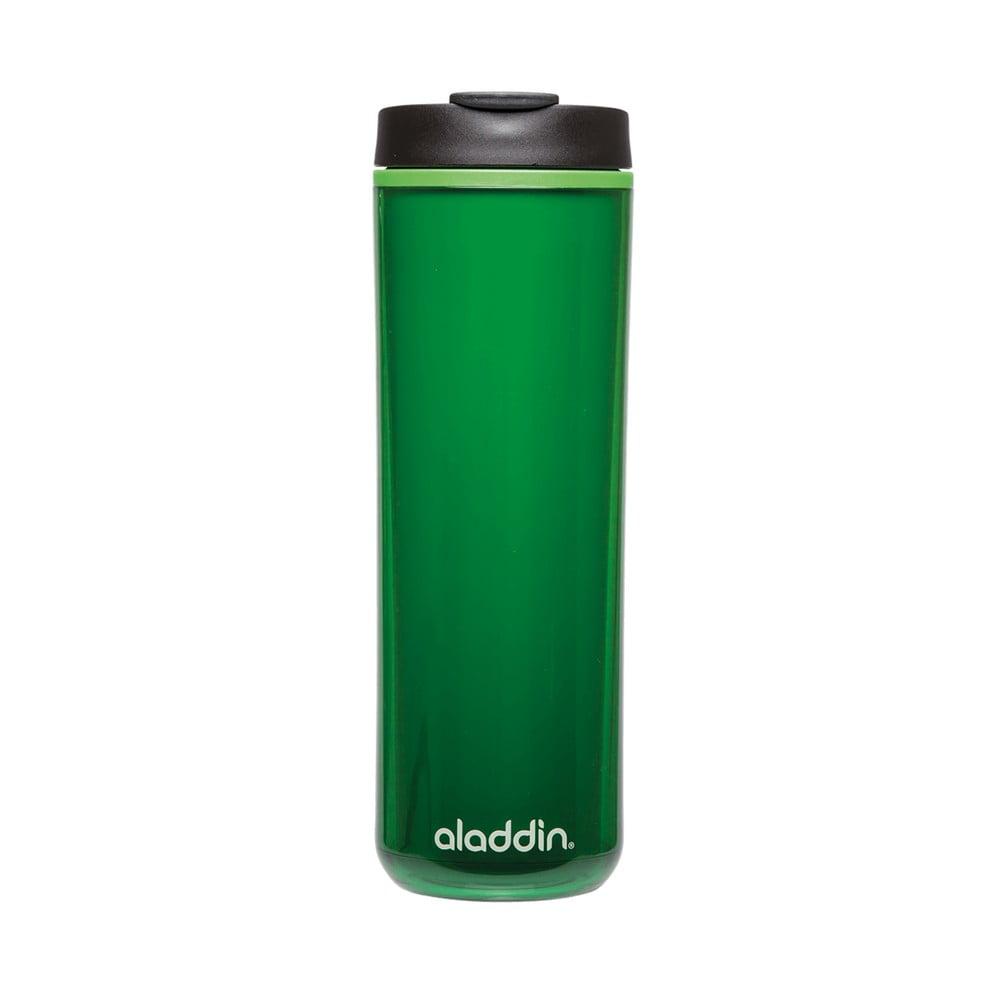 Zelený plastový termohrnek Aladdin s dvojitou stěnou, 470 ml
