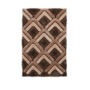Hnědý koberec Think Rugs Noble House, 120 x 170 cm