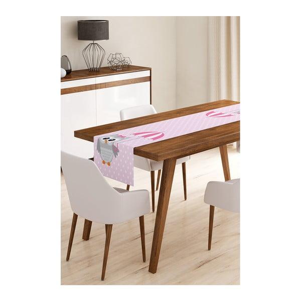Owl with Umbrella mikroszálas asztali futó, 45 x 145 cm - Minimalist Cushion Covers