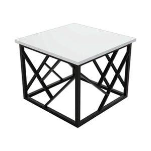 Bílý konferenční stolek Woda