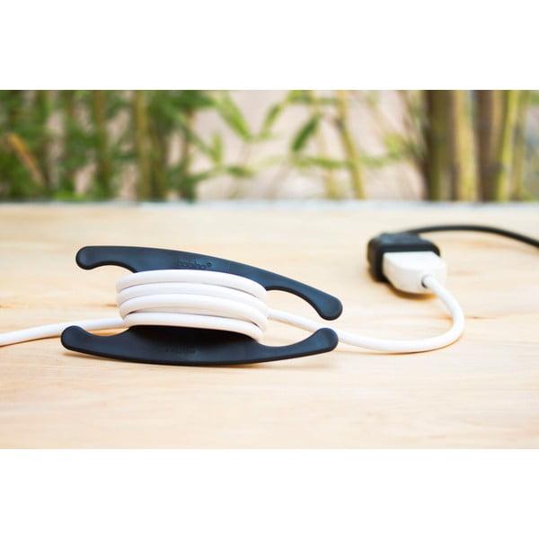 Suport de înfășurat cabluri Bobino® Cord Wrap, XL, negru