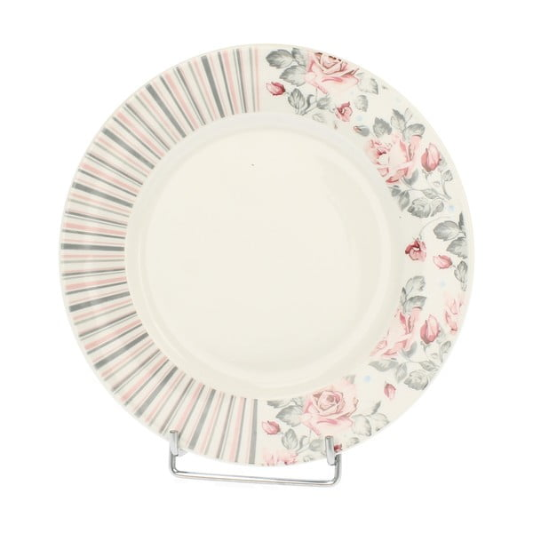 Porcelánový talíř Růžička, 20 cm