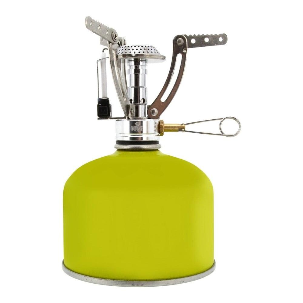 Zelený plynový kempingový vařič Cattara Butan