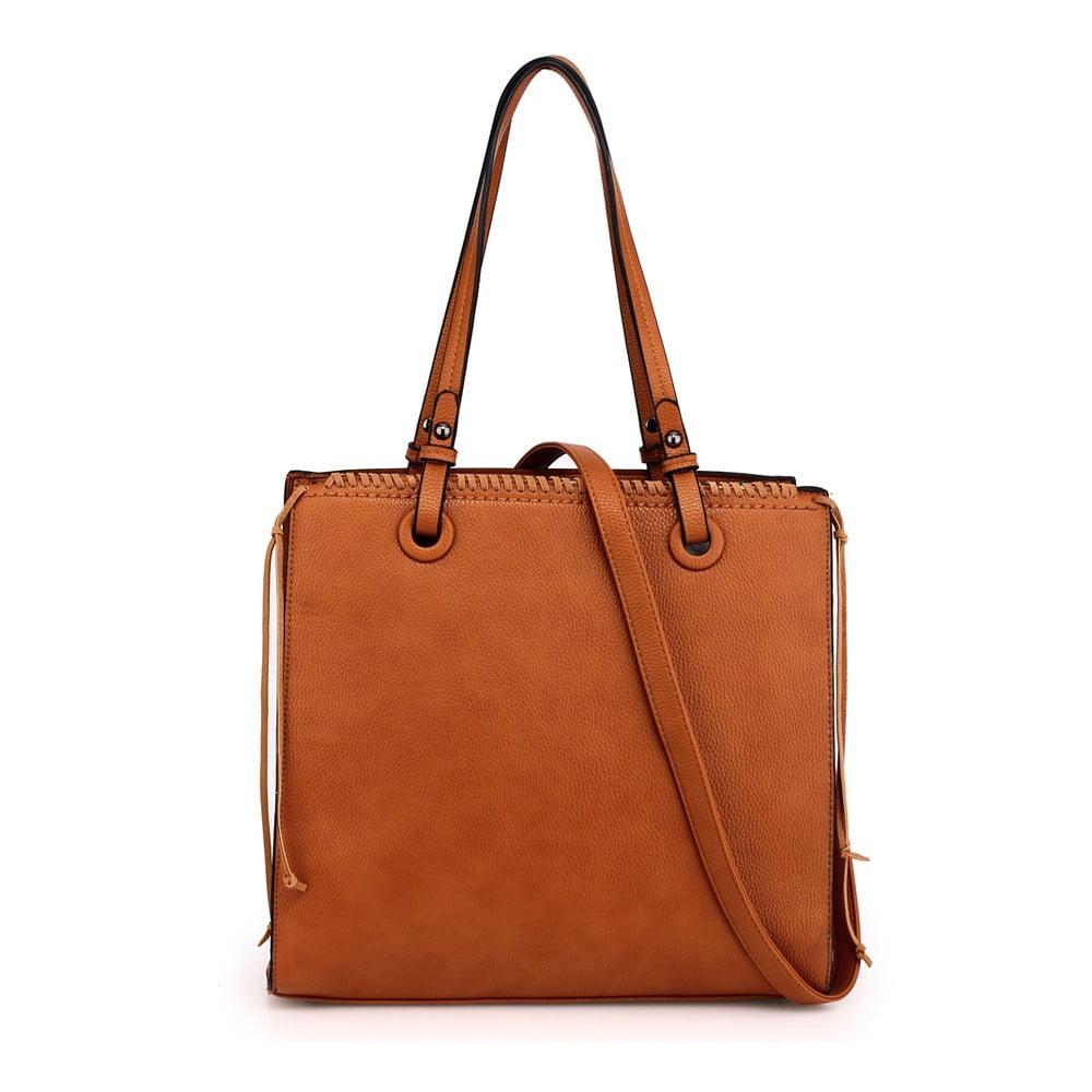 Hořčicově hnědá kabelka L&S Bags Jaina