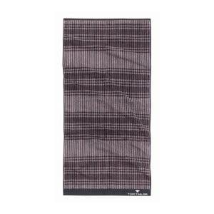 Ručník Tom Tailor Code Dark Grey, 50x100 cm
