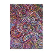 Ručně tuftovaný koberec Bakero Chindi Darsh, 183x122cm