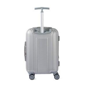 Šedé kabinové zavazadlo na kolečkách Murano Spider