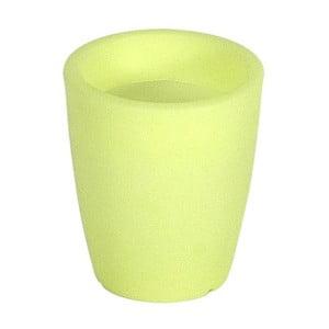 Fluorescenční váza Orchidea 20 cm, zelená