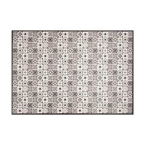 Černobílý vinylový koberec Zala Living Kaja, 97 x 140 cm
