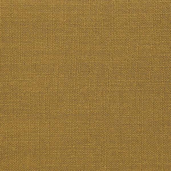 Kukuřičně žlutý puf Vivonita Grace Linen, 122x46cm