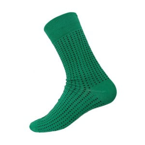 Ponožky Mini Dots Green, velikost 40-44