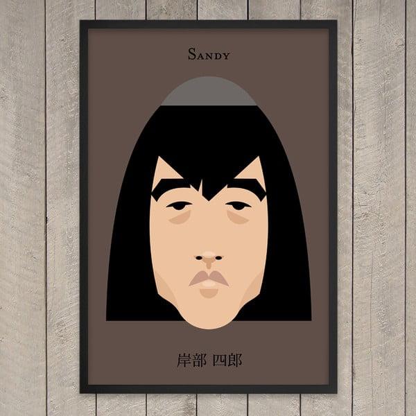 Plakát Sandy, 29,7x42 cm