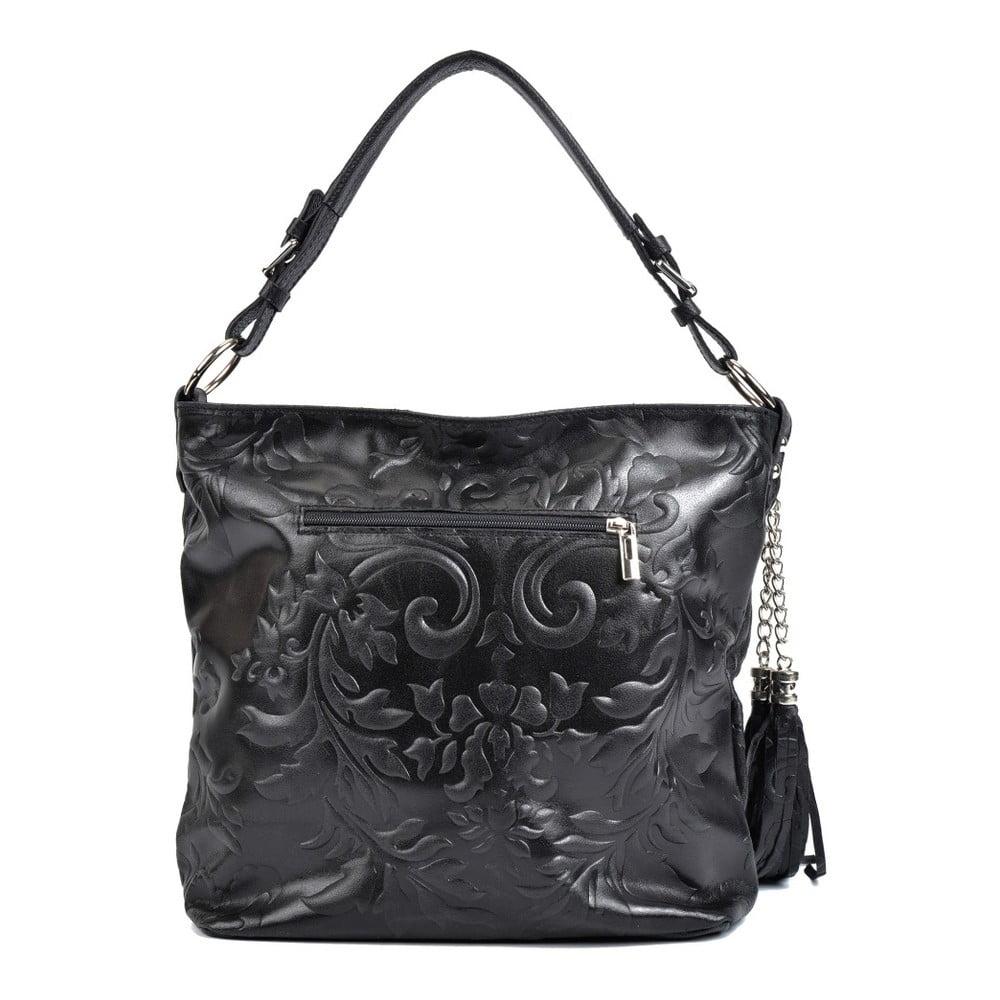 c601eee857 Černá kožená kabelka Isabella Rhea Hana
