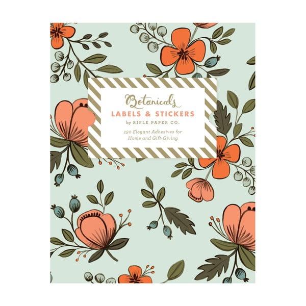 Samolepky Chronicle Books Botanicals Labels & Stickers, 150ks