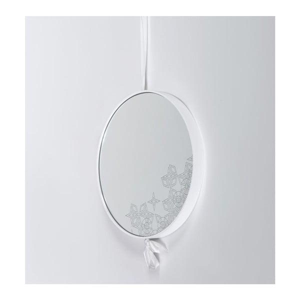 Zrcadlo Lace White