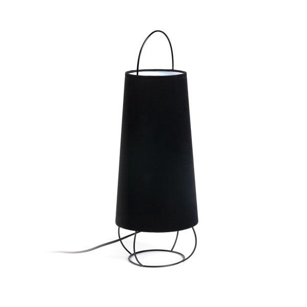 Černá stolní lampa La Forma Belana, výška 20 cm