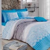 Povlečení Shiny Blue, 200x220 cm