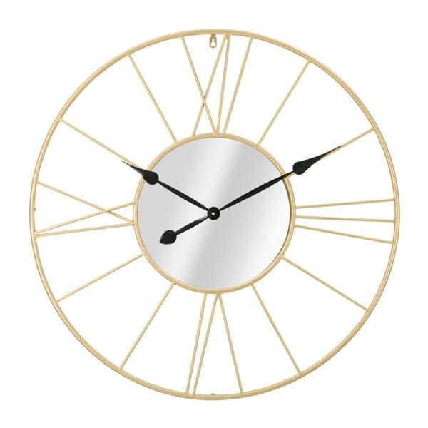 Nástenné hodiny v zlatej farbe Mauro Ferretti Viona, ⌀ 80 cm