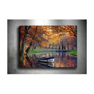 Obraz Tablo Center Boat Lake, 70 x 50 cm
