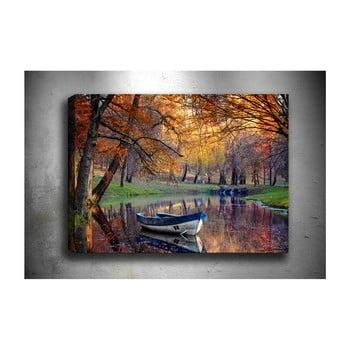 Tablou Tablo Center Boat Lake, 70 x 50 cm