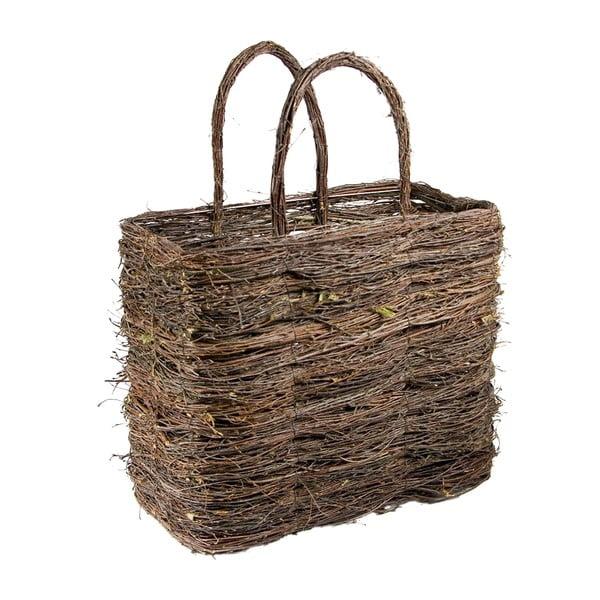 Proutěná taška, velká