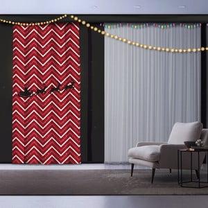 Vánoční závěs Christmas Sedge, 140 x 260 cm