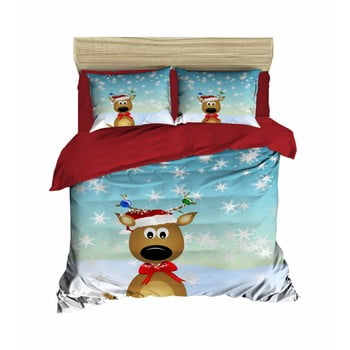Lenjerie de pat cu cearșaf Victor, 200x220cm de la Pearl Home