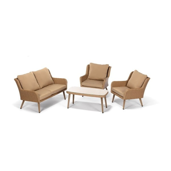 Set mobilier de grădină Timpana Mirnatio, maro