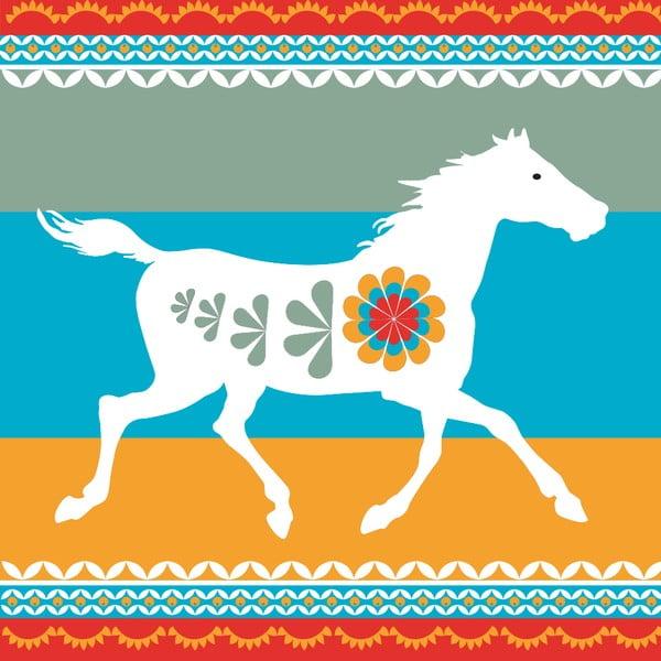 Vliesová tapeta Koně