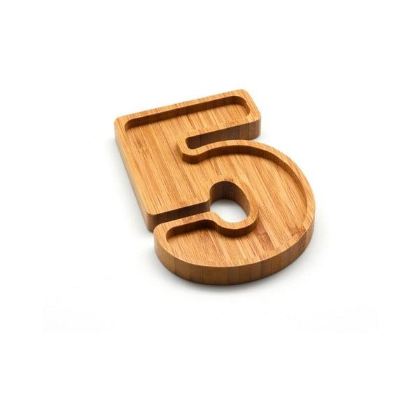 Bol din bambus pentru nuci Bambum Numero 5