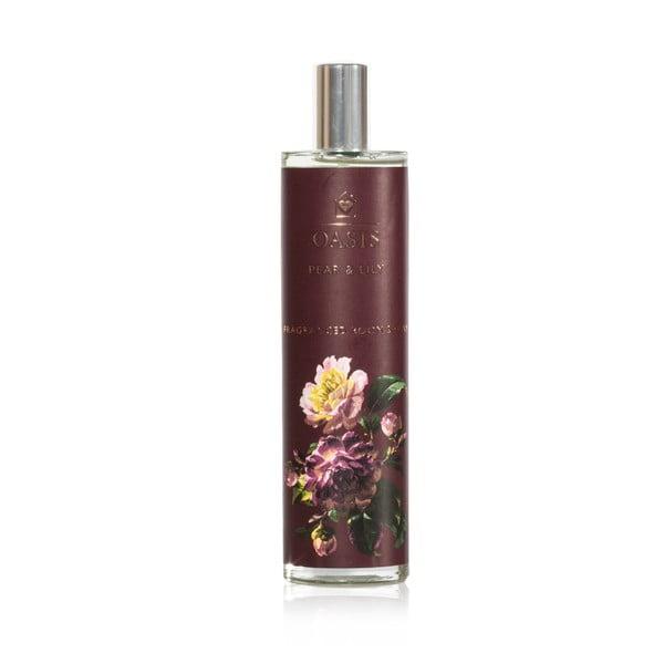 Interiérový vonný sprej s vôňou hrušky a ľalie Bahoma London Oasis Renaissance, 100 ml