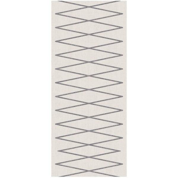 Béžový běhoun Floorita Fiord, 60 x 115 cm