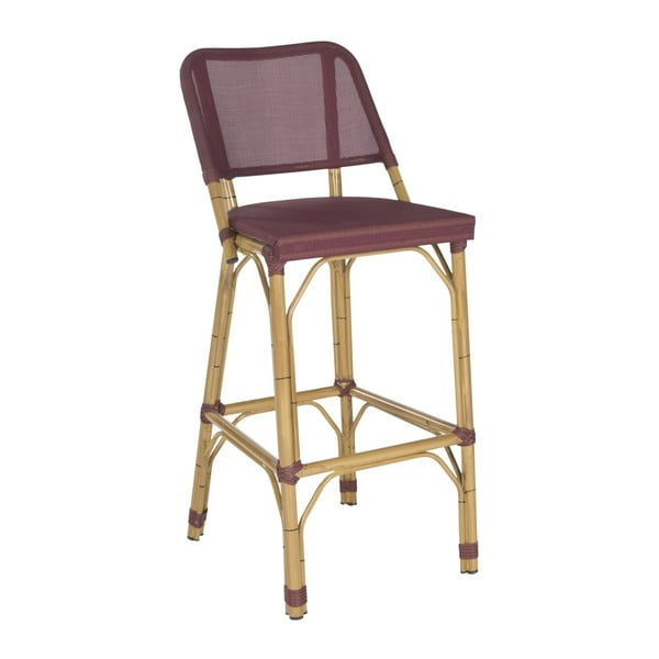 Barová židle Allison Maroon