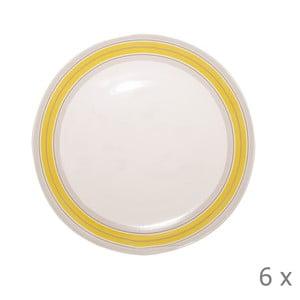 Set talířů Elise, 26,5 cm, 6 ks
