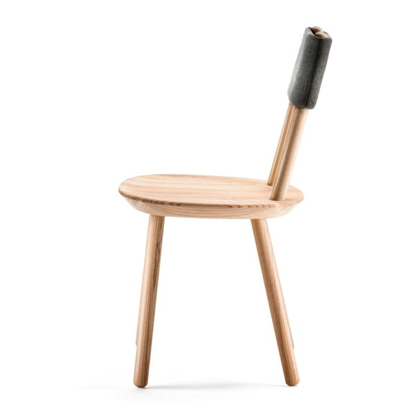 Scaun din lemn masiv EMKO Naïve, natural