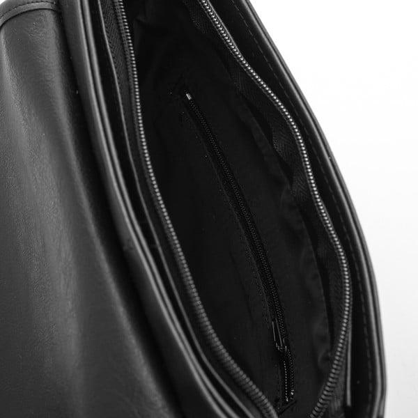 Taška přes rameno Solier S07, černá