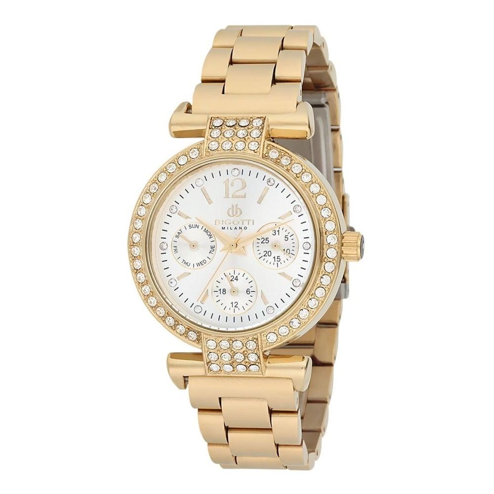 ce16b53bec Dámské hodinky zlaté barvy z nerezové oceli Bigotti Milano Sabina ...