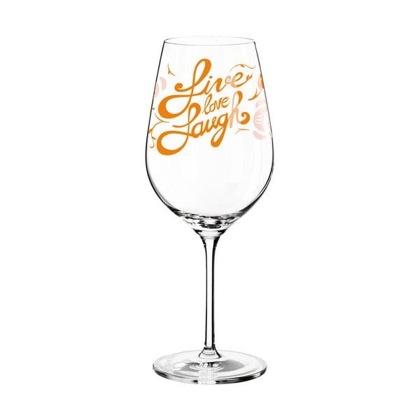Pahar din sticlă cristalină Ritzenhoff Selli Cordazzi, 600 ml