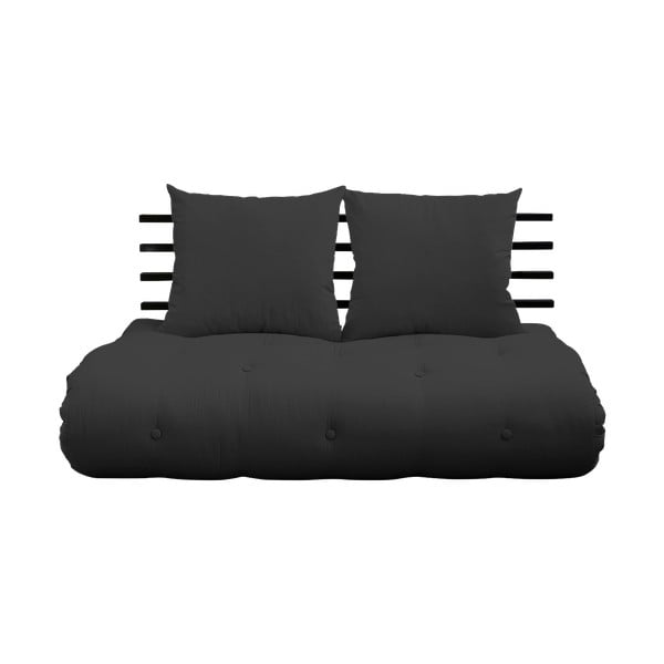 Sofa rozkładana Karup Design Shin Sano Black/Dark Grey