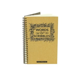 Zápisník Blueprint Collections Words & Scribbles