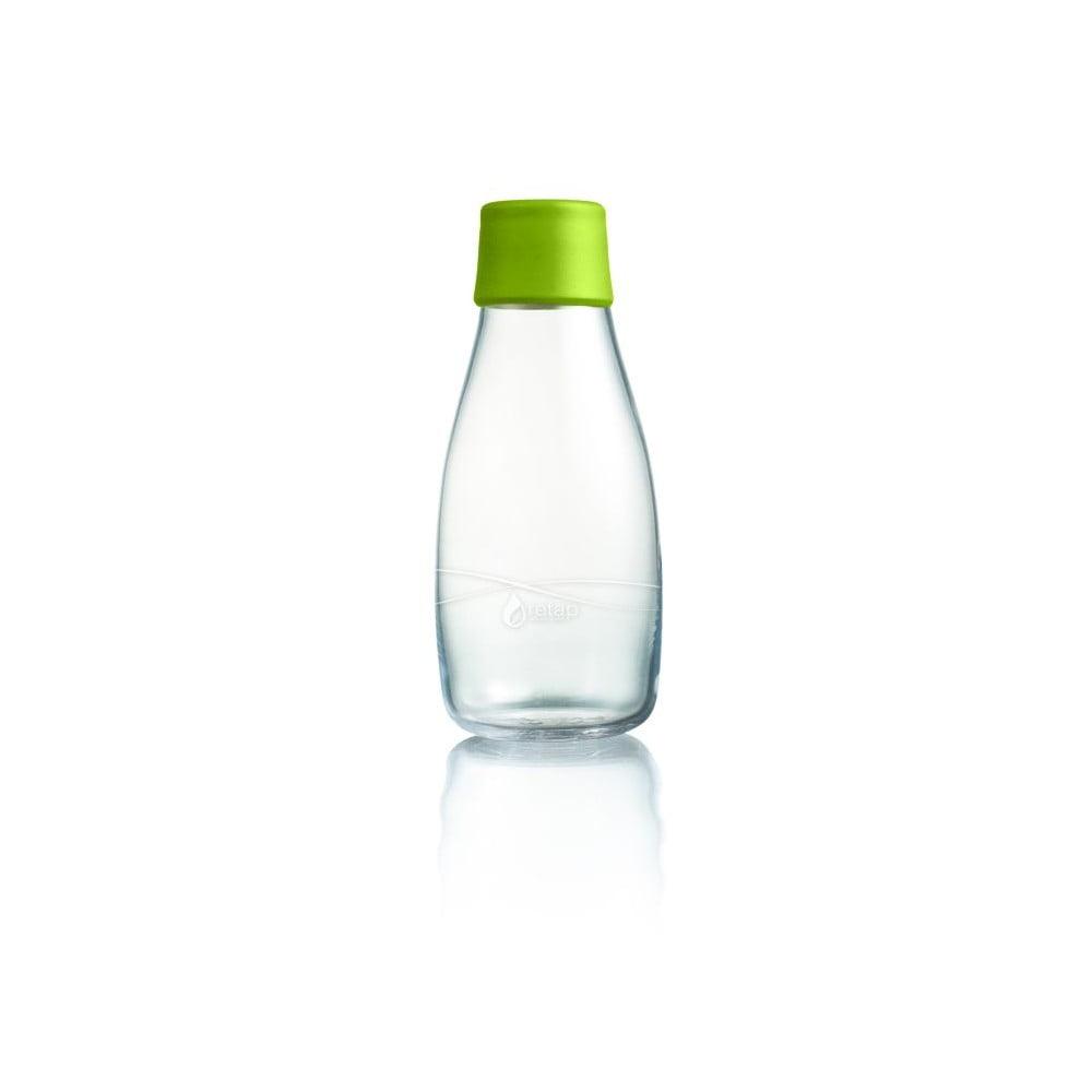 Zelená skleněná lahev ReTap s doživotní zárukou, 300ml