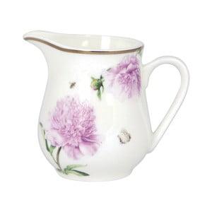 Mléčenka z kostního porcelánu Ashdene Pink Peonies, 200ml