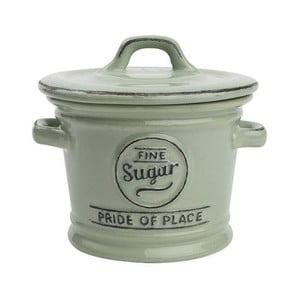 Recipient ceramic pentru zahăr T&G Woodware Pride of Place, verde
