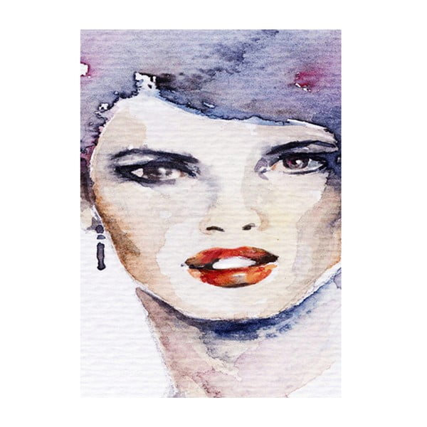 Obraz Žena, která ví, 45x70 cm