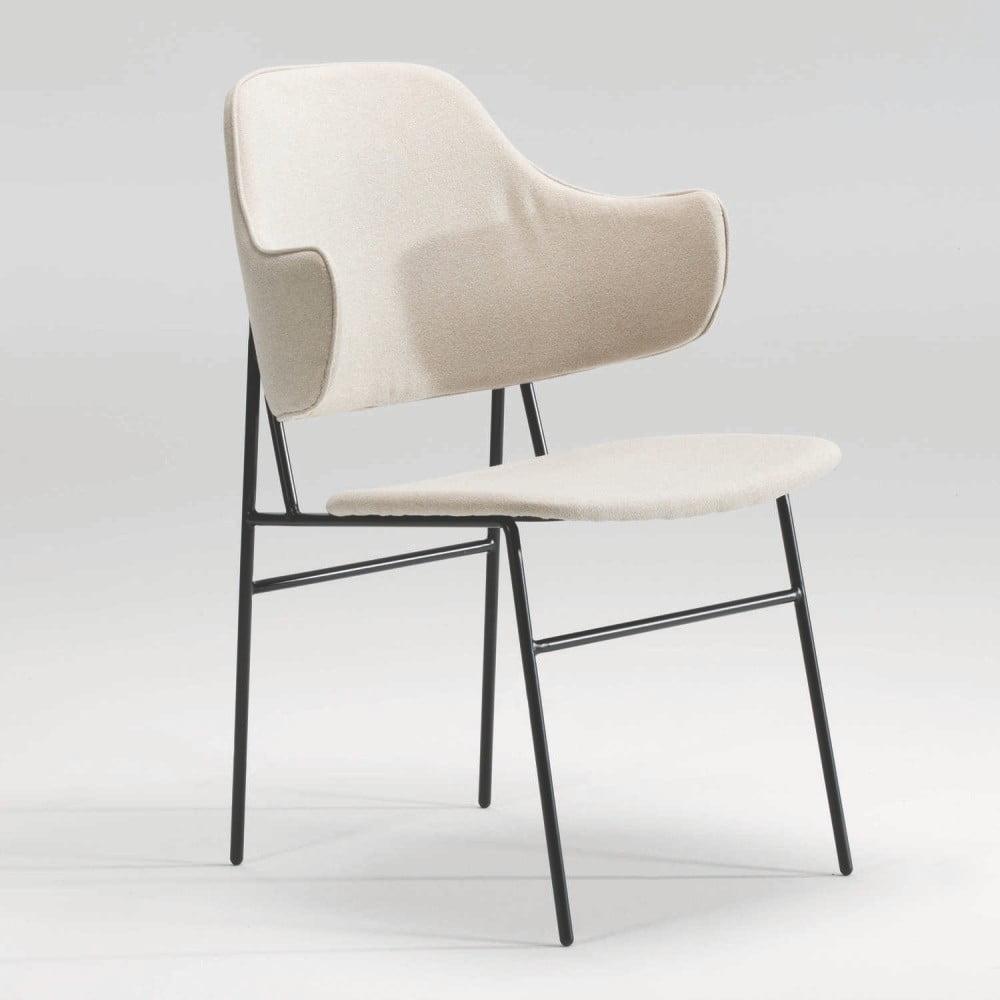 Béžová židle Thai Natura Carla
