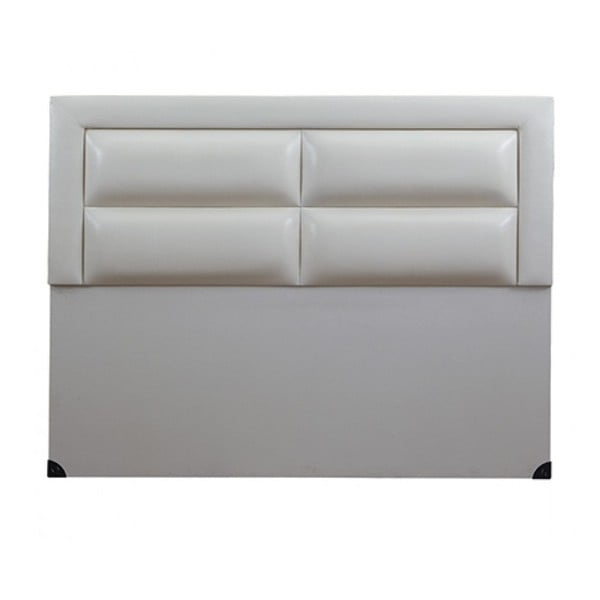 Čelo postele Comfort White, 120x120 cm